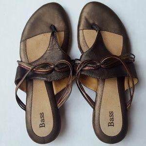 Bass | Jill leather thong sandal 10